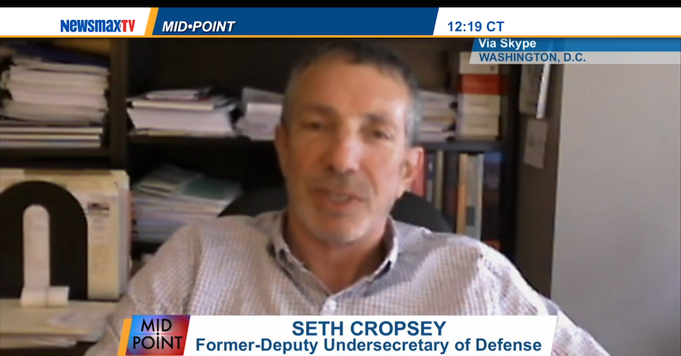 Seth Cropsey: Obama 'Unique' in Wanting to Curb US Global Role, NewsMaxTV, August 4, 2014