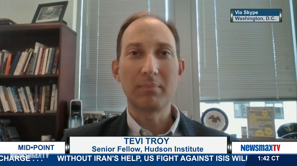 Tevi Troy talks about U.S. policy on the Ebola crisis, NewsmaxTV, September 15, 2014