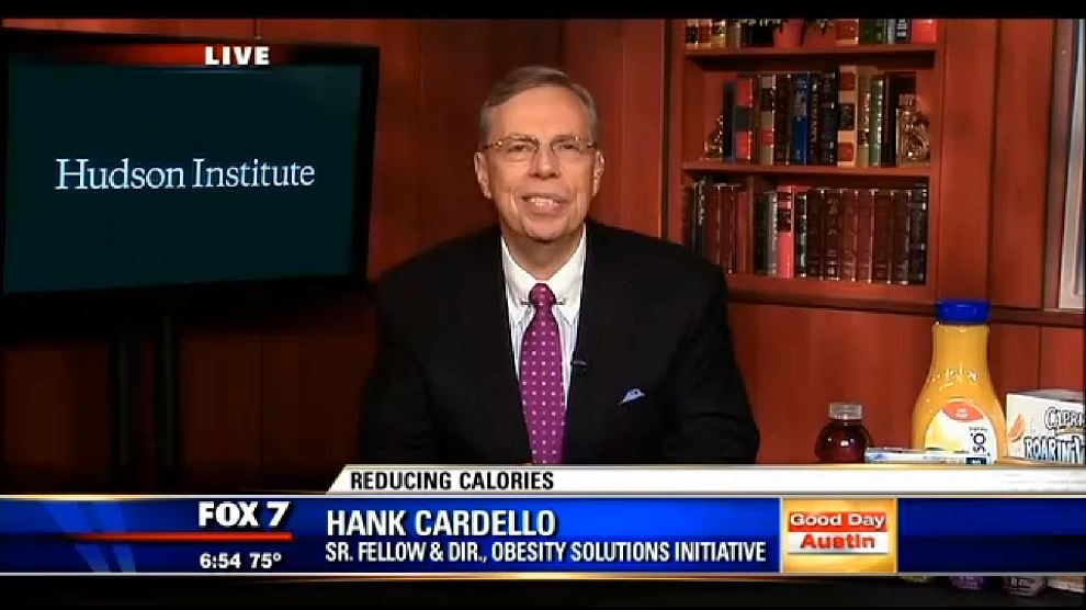 Reducing Calories, My Fox Austin, September 16, 2014