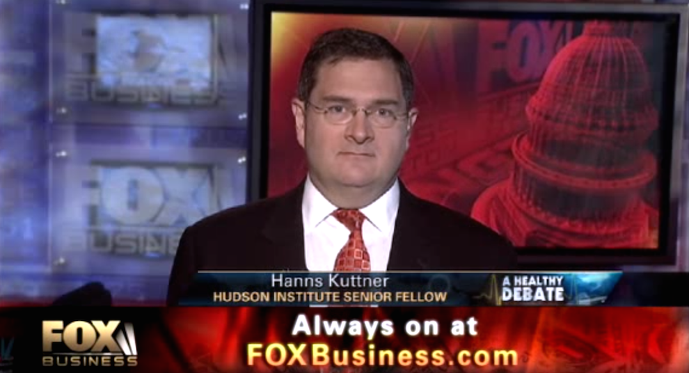 Automakers Set Example for Health Care? Fox Business, May 6, 2011