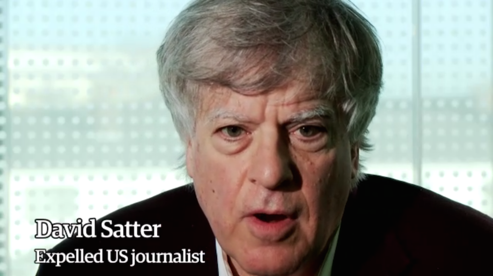 US Journalist David Satter on his Expulsion from Russia: 'I Was Told My Presence Was Undesirable', The Guardian, January 13, 2014
