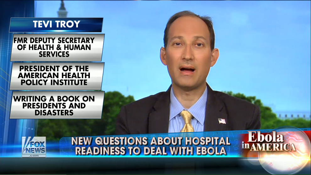 Broader Ebola outbreak in US 'inevitable'? Fox & Friends, October 14, 2014