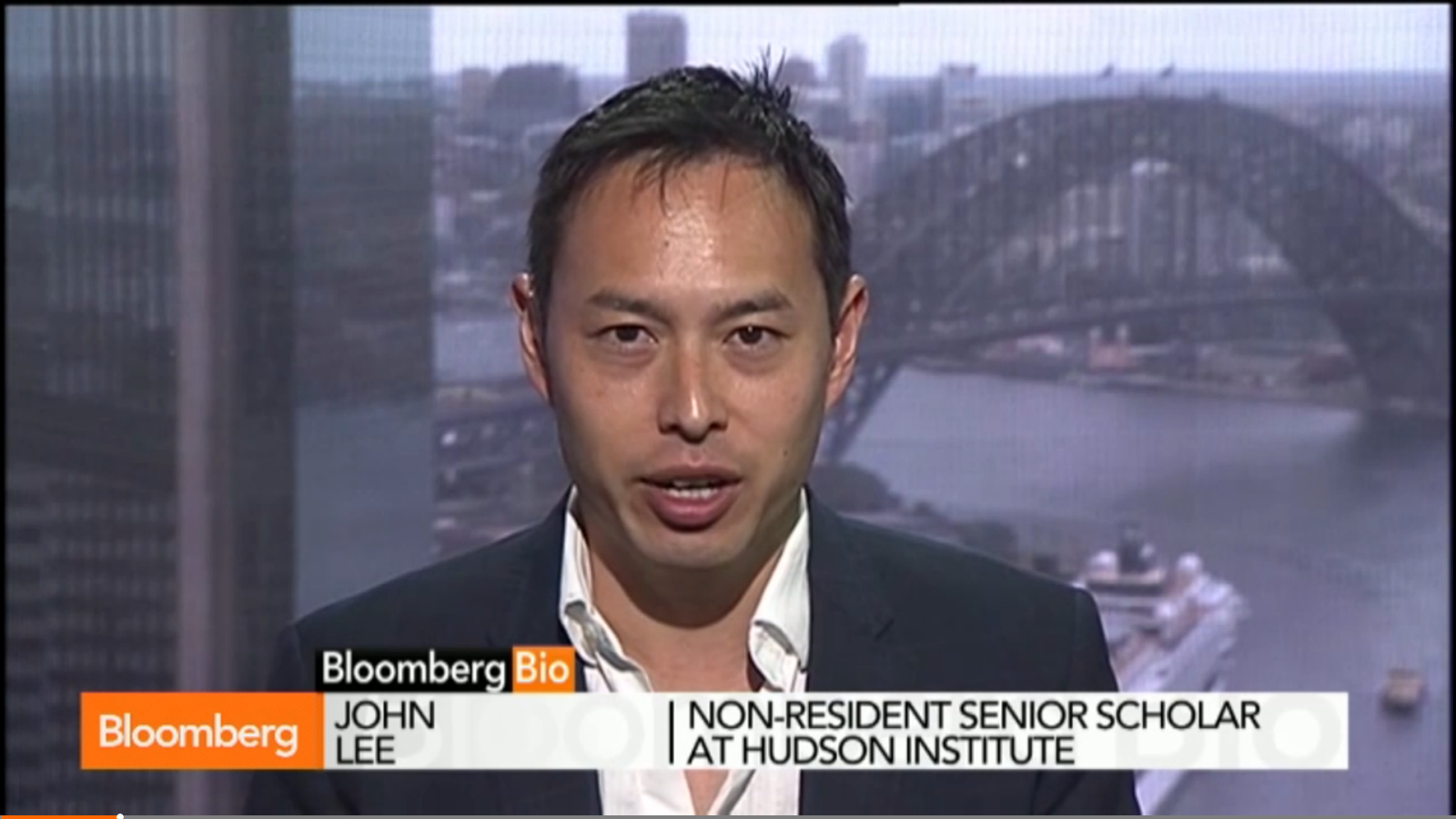 Xi Meets Abe With Awkward Handshake at APEC, Bloomberg, November 11, 2014