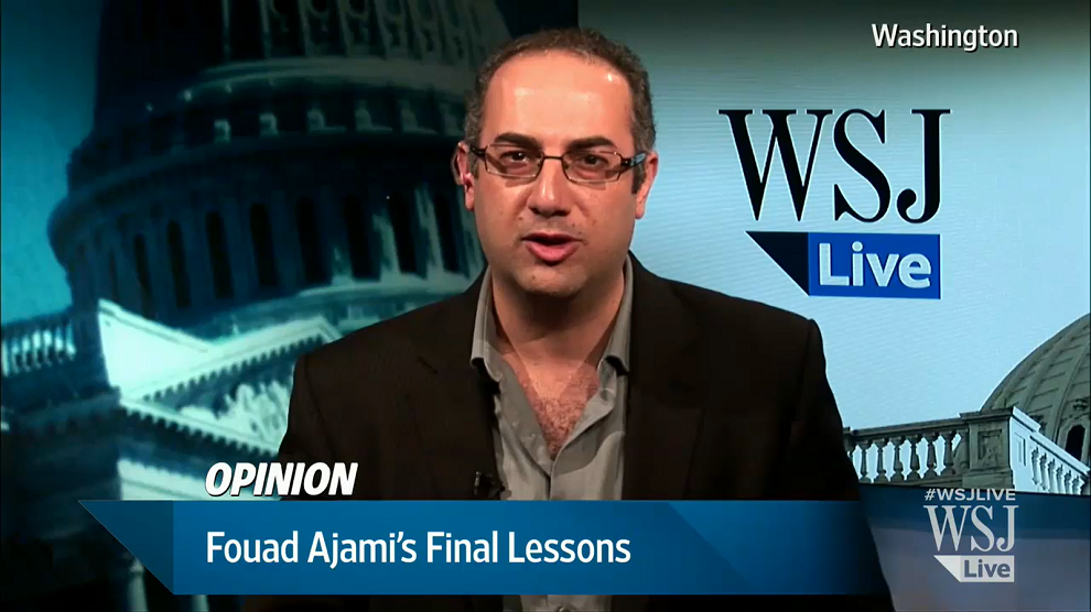 Opinion: Fouad Ajami's Final Lessons, WSJ Live, November 12, 2014