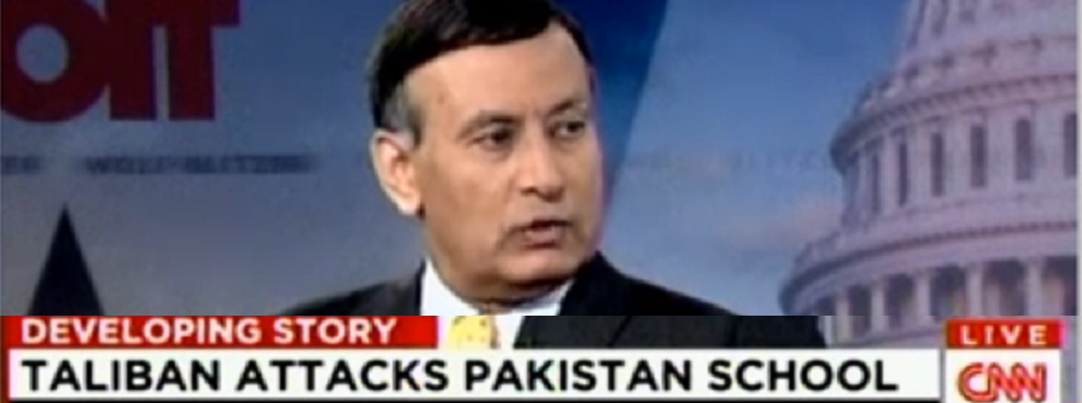 CNN Interview: Husain Haqqani on Pakistani Taliban School Attack, CNN, December 16, 2014