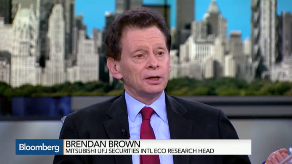 Brendan Brown Sees Plague of Market Irrationality, Bloomberg TV, February 11, 2015