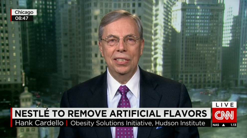 Nestle to Remove Artificial Flavors from its Products, CNN, February 19, 2015
