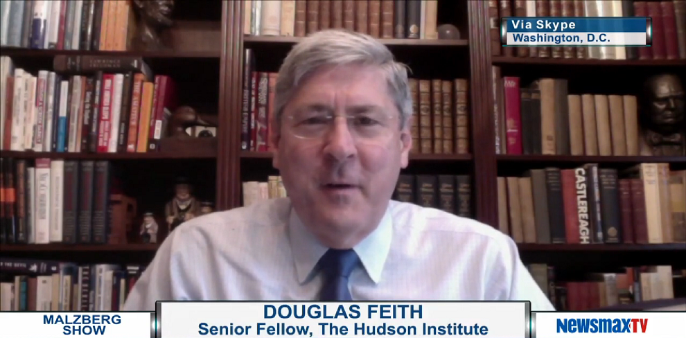 Douglas Feith on Obama's Iran Deal and Where it's Headed, NewsMaxTV, April 14, 2015