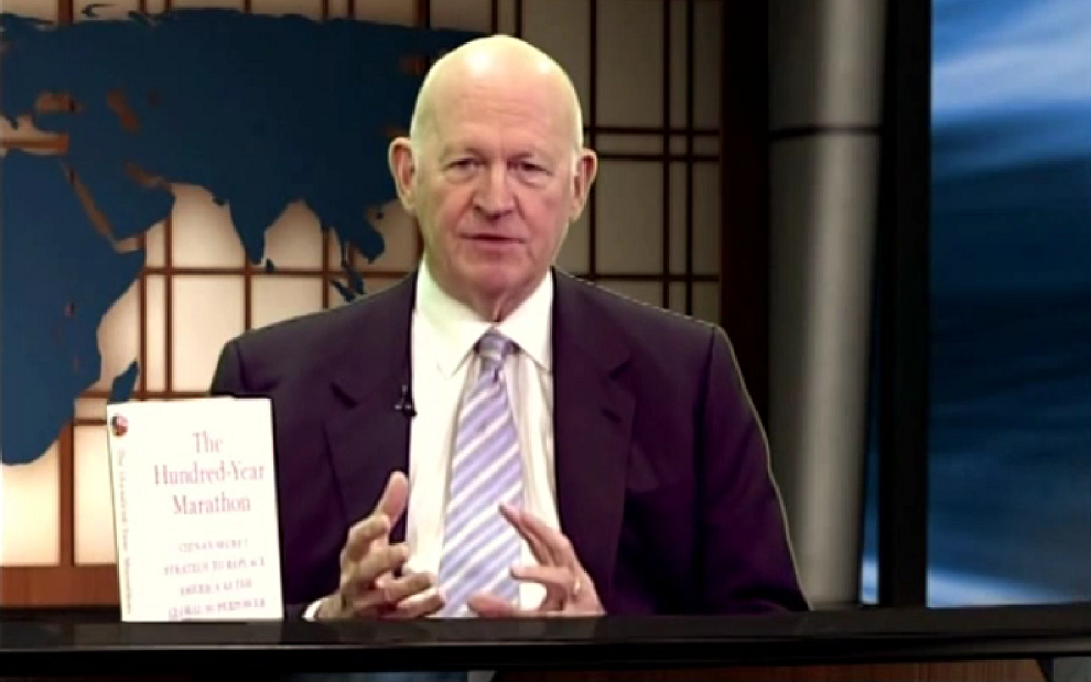 Jeff Barnett Talks China with Michael Pillsbury, Inside Scoop, April 27, 2015