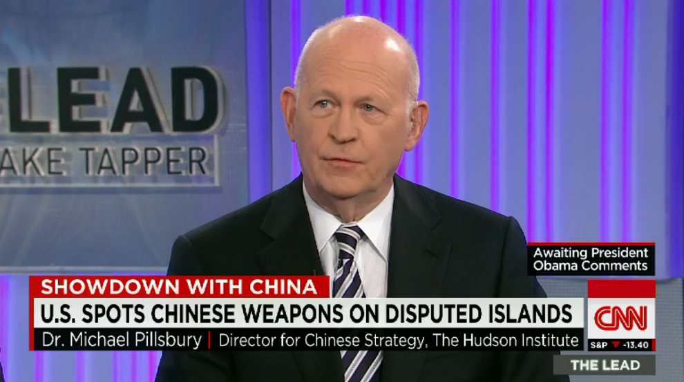 Expert: China's Military Moves Signal Threat of War, CNN, May 29, 2015