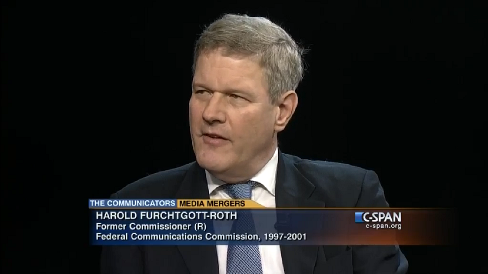 Communicators with Gene Kimmelman and Harold Furchtgott-Roth, C-SPAN, May 29, 2015