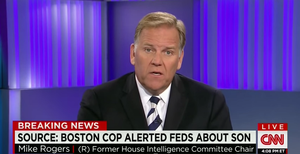 Mike Rogers on New ISIS Arrest and the Ongoing Fight in Iraq, CNN, July 16, 2015