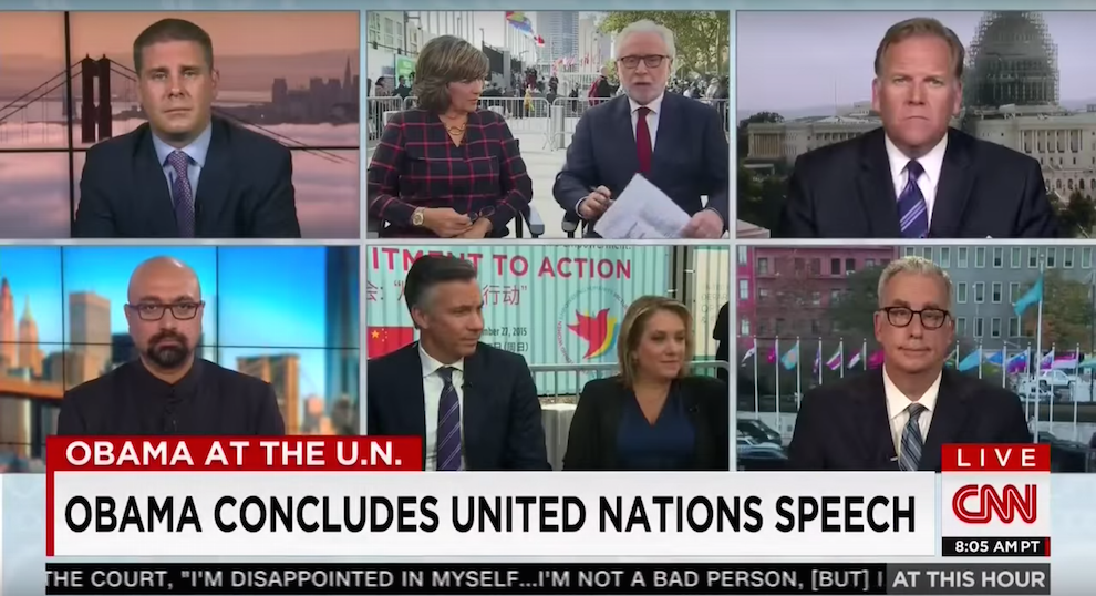 Mike Rogers Analyzes President Obama's U.N. Speech, CNN, September 29, 2015