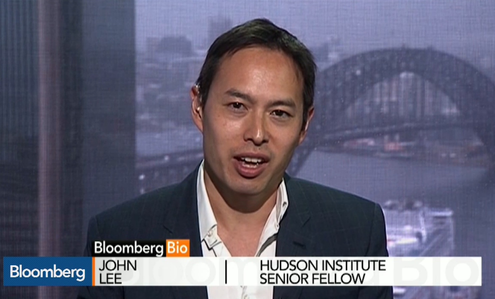 What Will London Get Out of a Relationship With China? Bloomberg, October 21, 2015