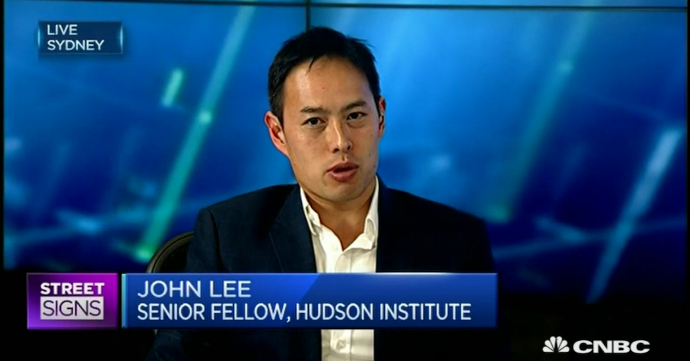 'China Isn't a Great Long-Term Economic Planner', CNBC, October 26, 2015