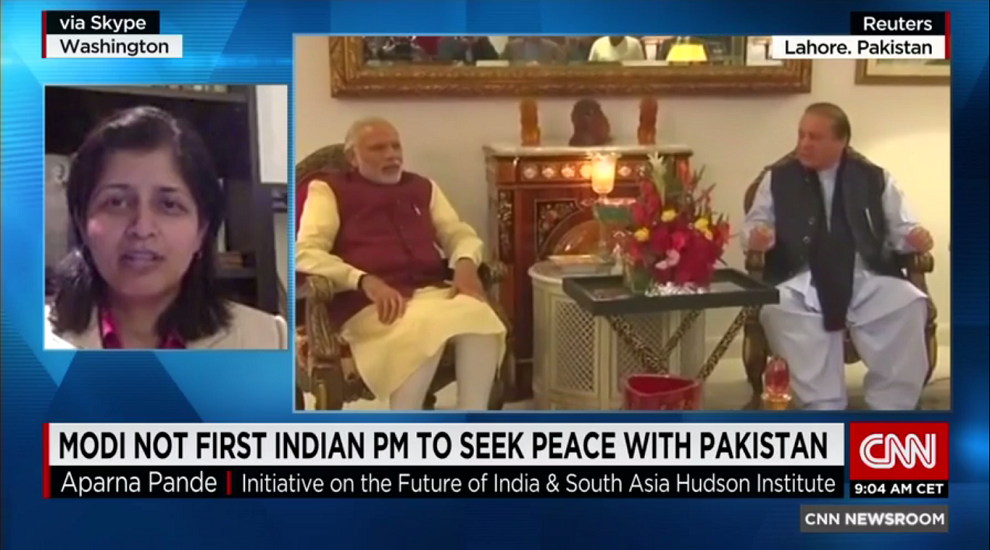 Indian Prime Minister Modi Visits with Pakistani Leader, CNN, December 26, 2015