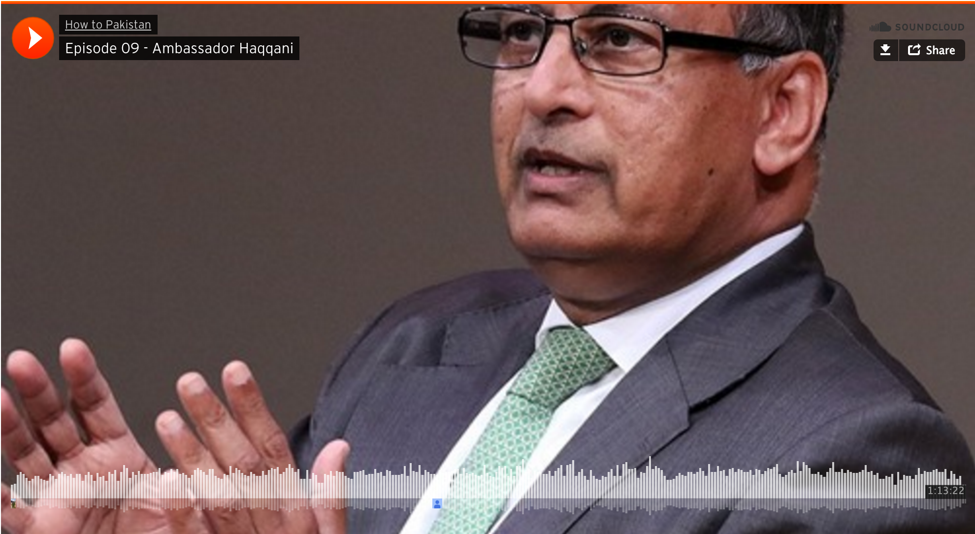 Ambassador Haqqani on the How to Pakistan Podcast, February 22, 2016