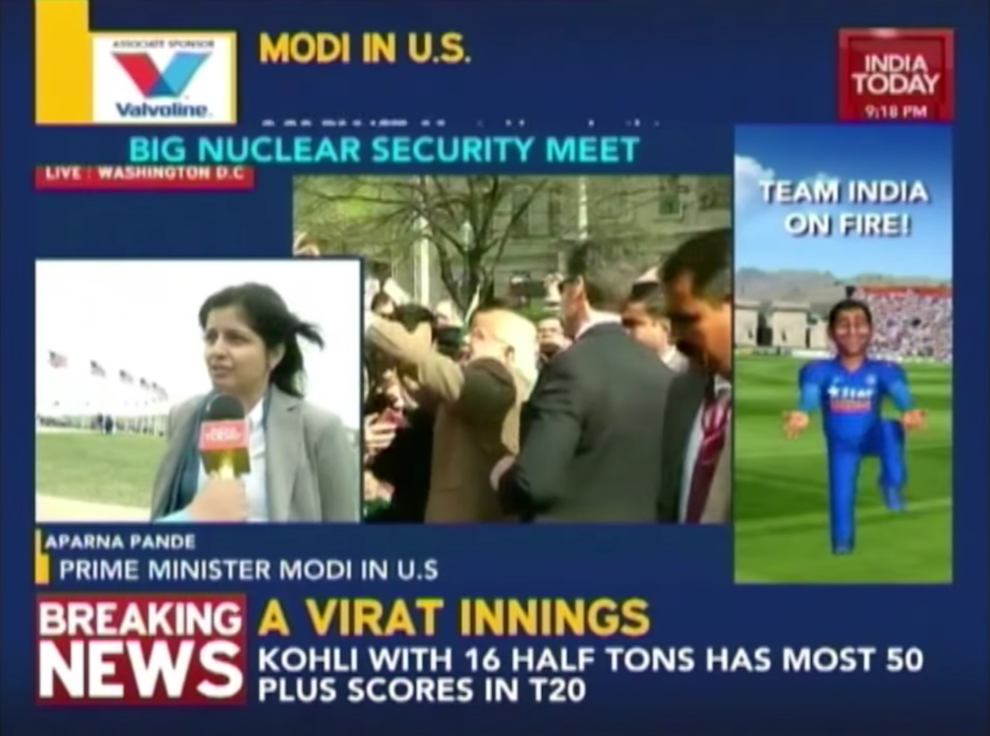 Prime Minister Modi in Washington to Attend Nuclear Security Summit, N-Terrorism Threat in Agenda, India Today, March 31, 2016