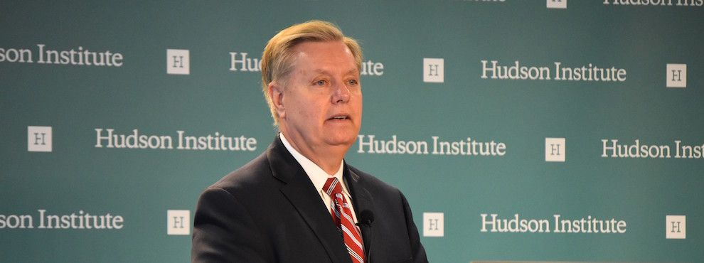 Senator Lindsey Graham on Lessons from the Syrian War and the Need for U.S. Leadership, April 7, 2016