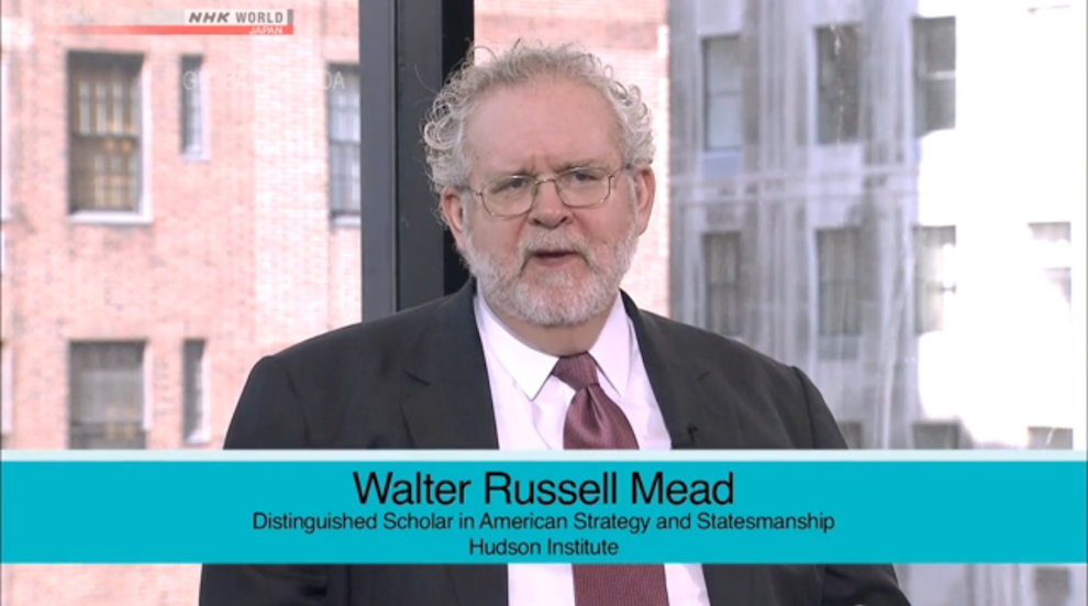 US Leadership: Engaging with a Changing World, NHK World's Global Agenda, April 29th, 2016