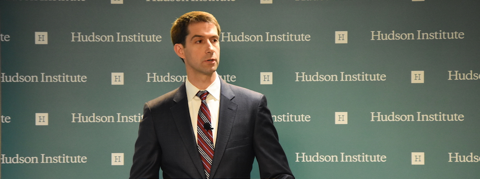 Senator Tom Cotton's Remarks on Crime and Justice in America, May 19, 2016