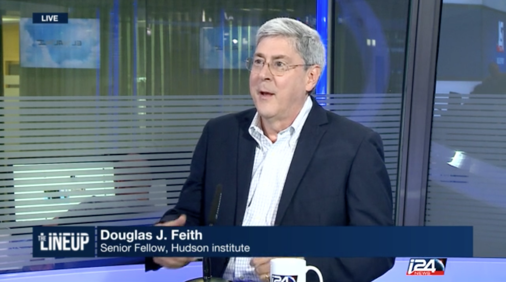 One-on-One with Douglas Feith, i24 News, August 11, 2016