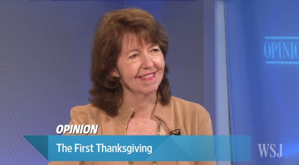 The First Thanksgiving, Wall Street Journal Video, November 17, 2016