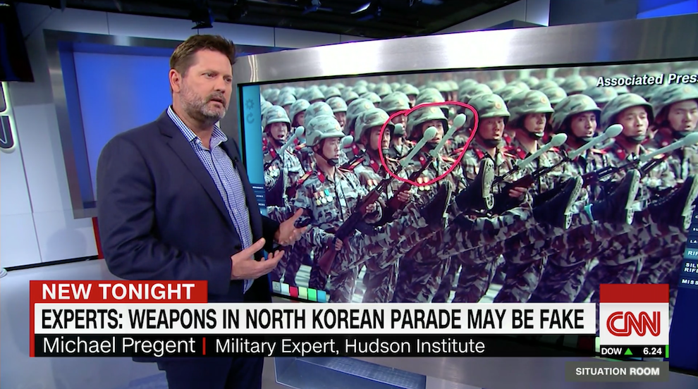 North Korea Parade Weapons May be Fake, CNN, April 27, 2017