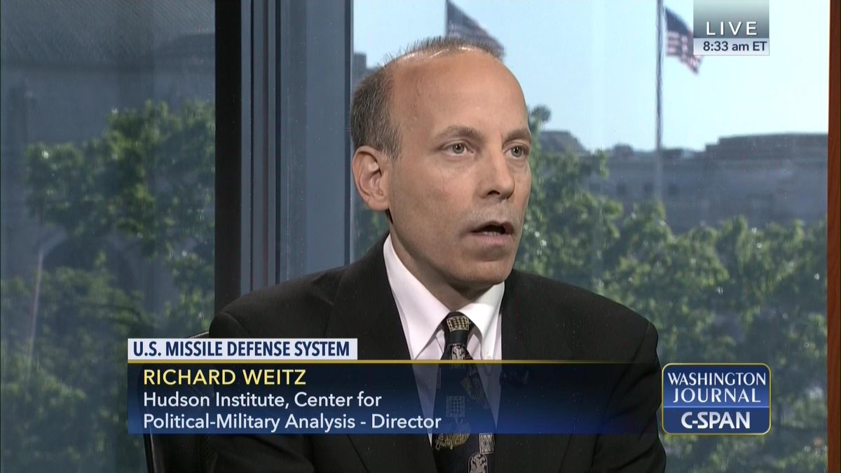 Richard Weitz on the U.S. Missile Defense System