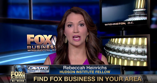 Rebeccah Heinrichs on Cavuto: Coast to Coast, May 17, 2017