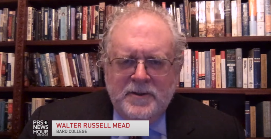 Walter Russell Mead on PBS News Hour, May 28, 2017