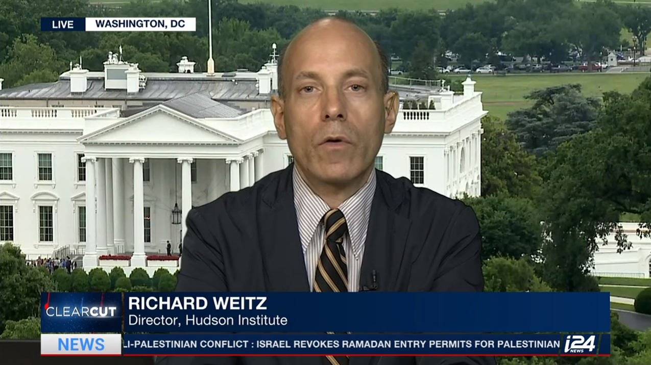 Richard Weitz on i24 News, June 21, 2017