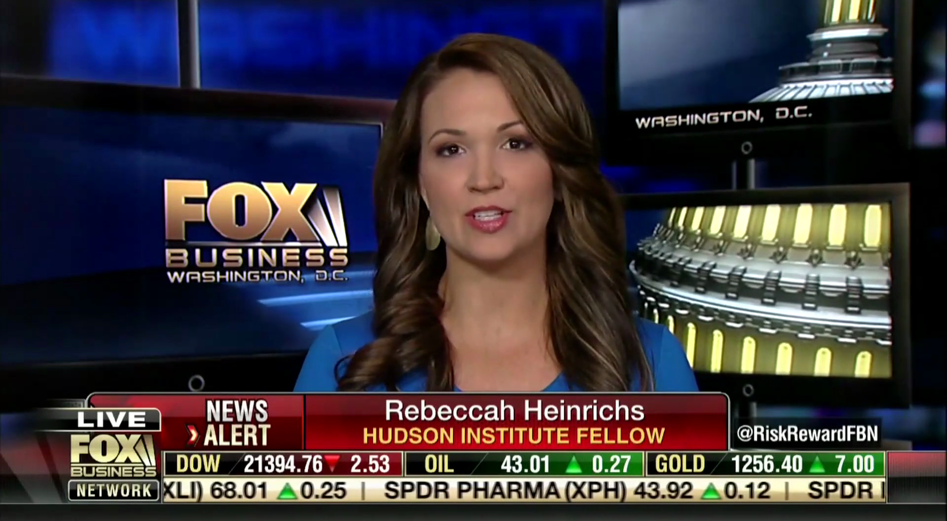 Rebeccah Heinrichs on Fox Business, June 23, 2017