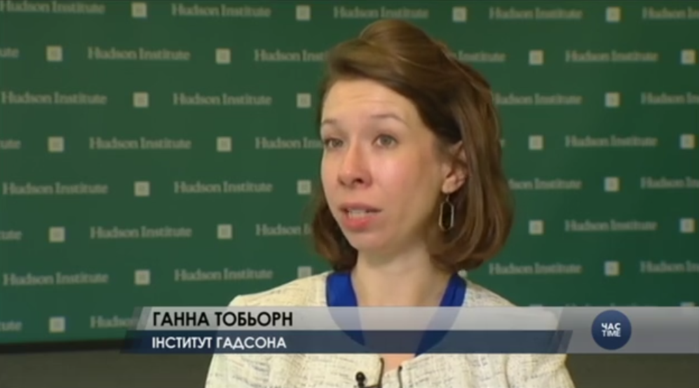Hannah Thoburn on VOA Ukrainian, July 7, 2017