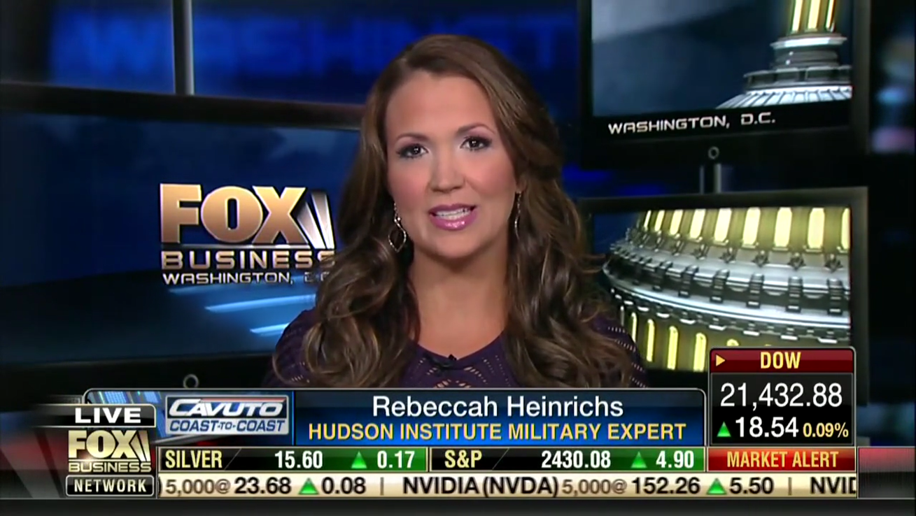 Rebeccah Heinrichs on Fox Business, July 10, 2017