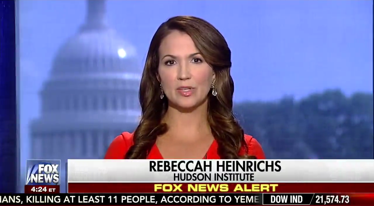 Rebeccah Heinrichs on Fox News, July 18, 2017
