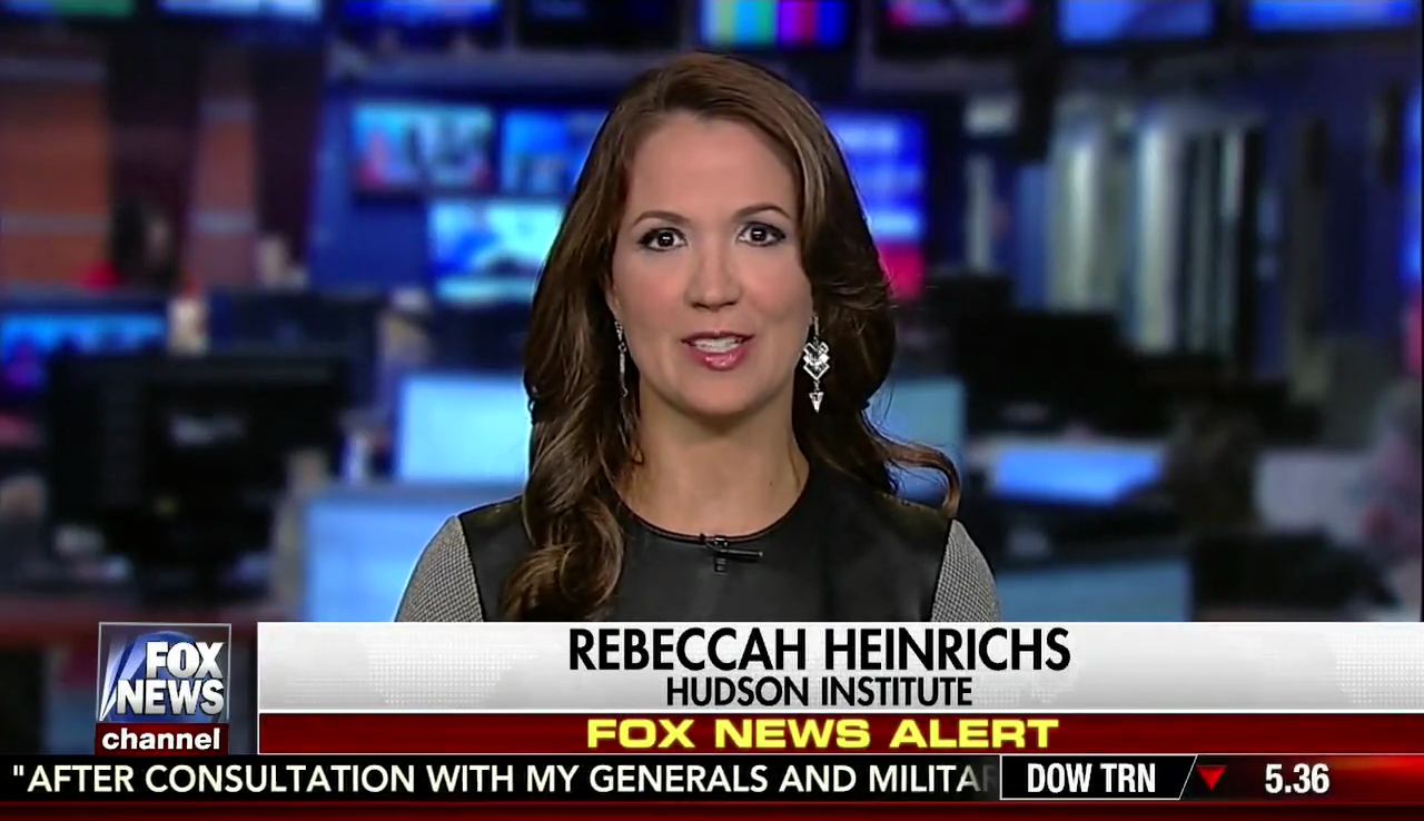 Rebeccah Heinrichs on Fox News, July 26, 2017