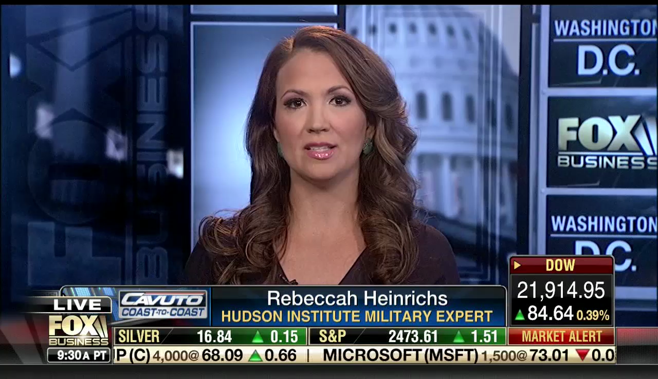 Rebeccah Heinrichs on Fox Business, July 31st, 2017