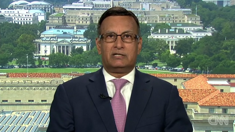 Ambassador Husain Haqqani on CNN International, August 3, 3017
