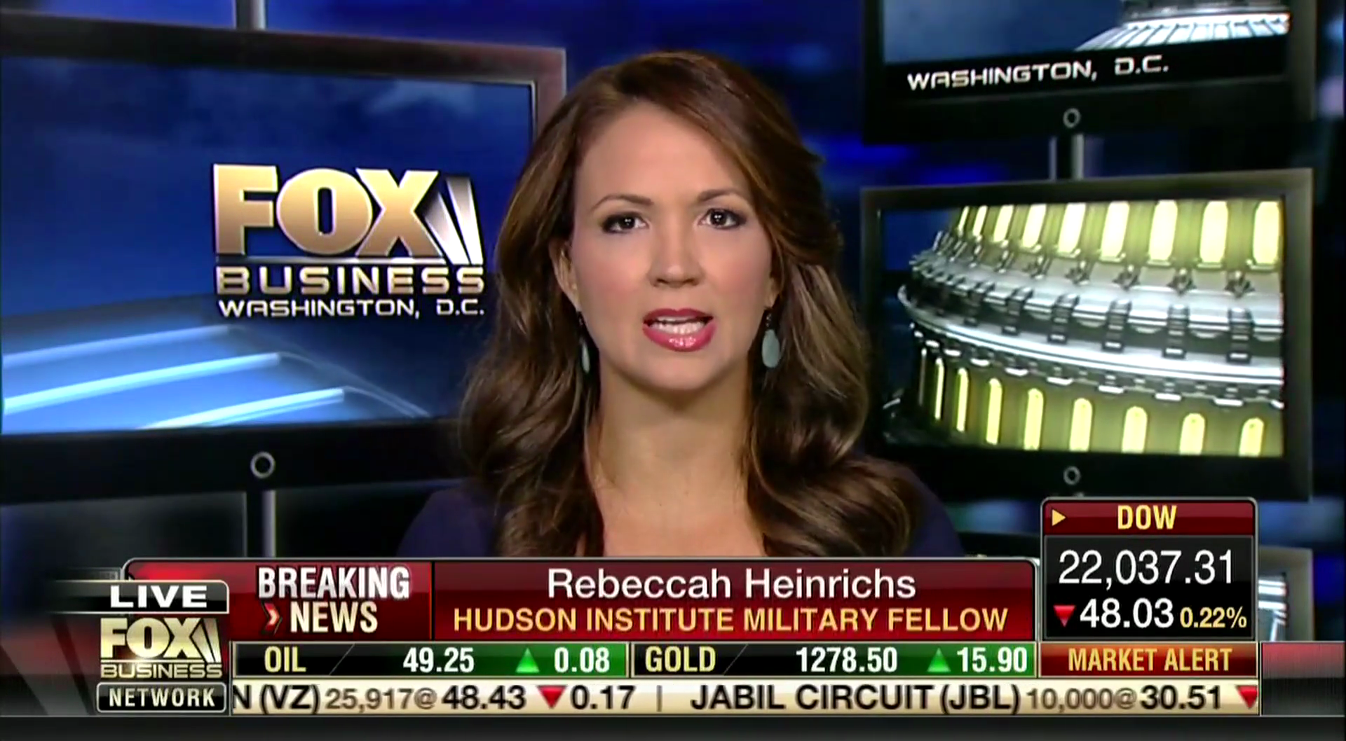 Rebeccah Heinrichs on Fox Business, August 9, 2017