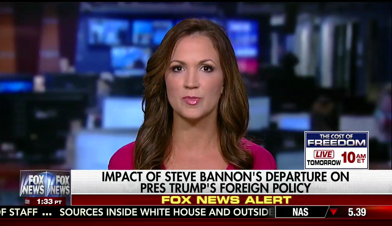 Rebeccah Heinrichs on Fox News, August 18, 2017
