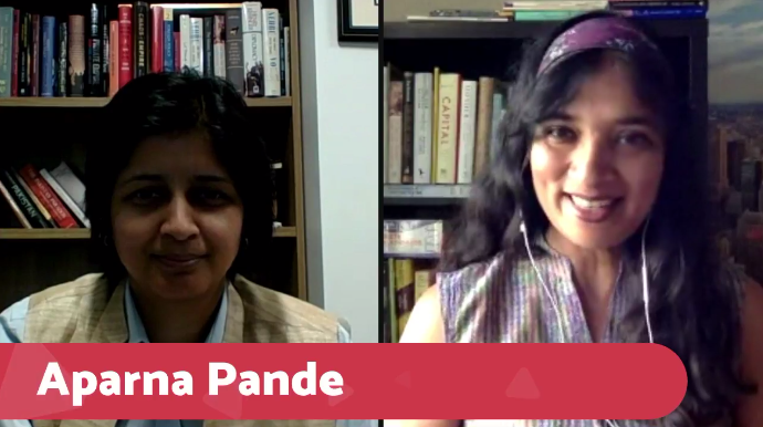 Aparna Pande Firstpost Facebook Live Interview, August 25, 2017