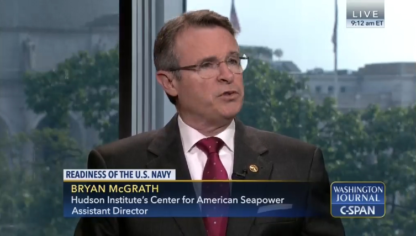 Bryan McGrath on C-SPAN Washington Journal, August 27, 2017