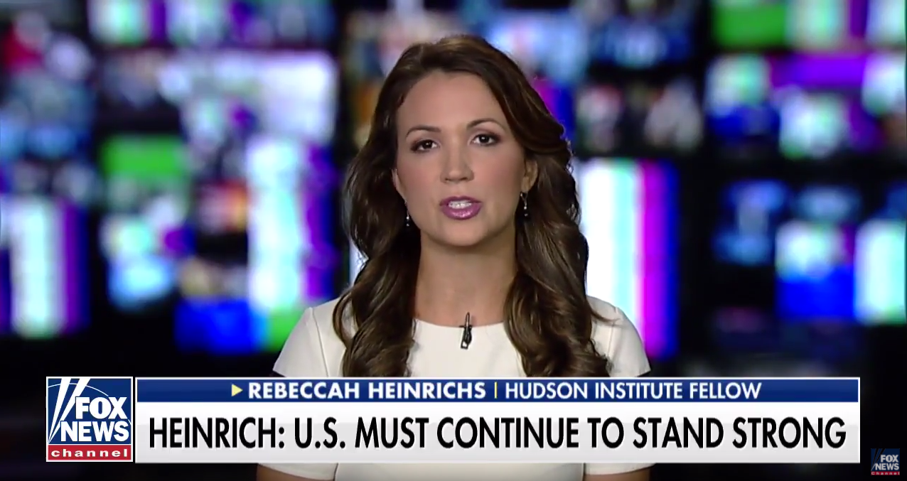 Rebeccah Heinrichs on Fox News, September 26, 2017