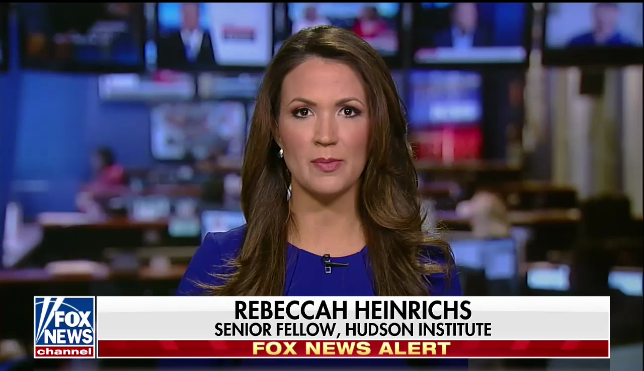 Rebeccah Heinrichs on Fox News, January 3, 2018