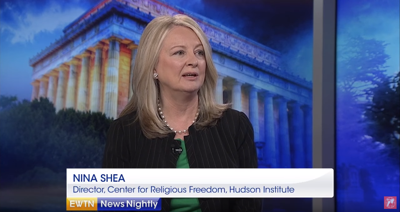 Nina Shea on EWTN, May 9, 2018