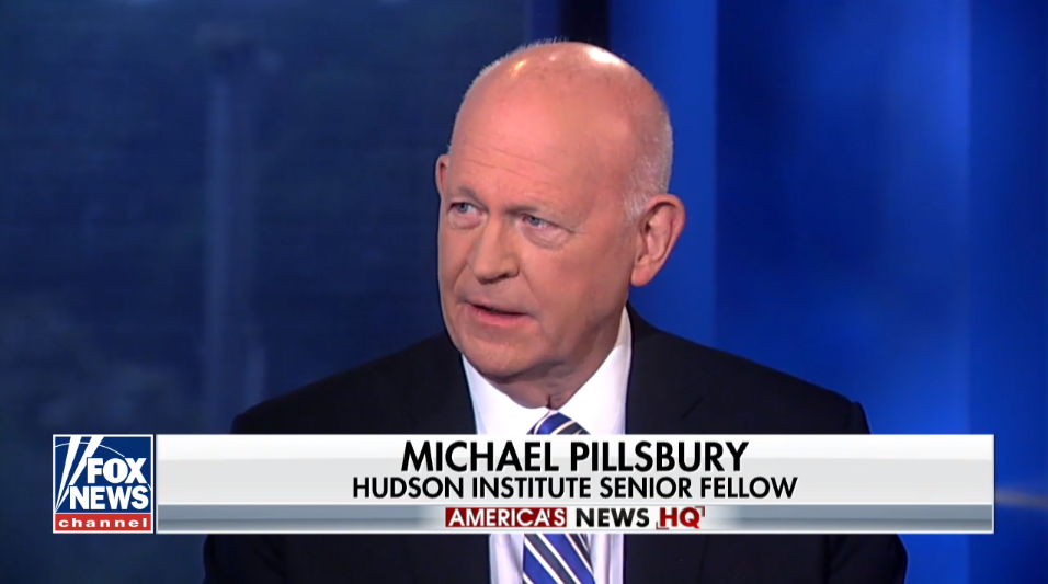 Michael Pillsbury on Fox News, June 2, 2018