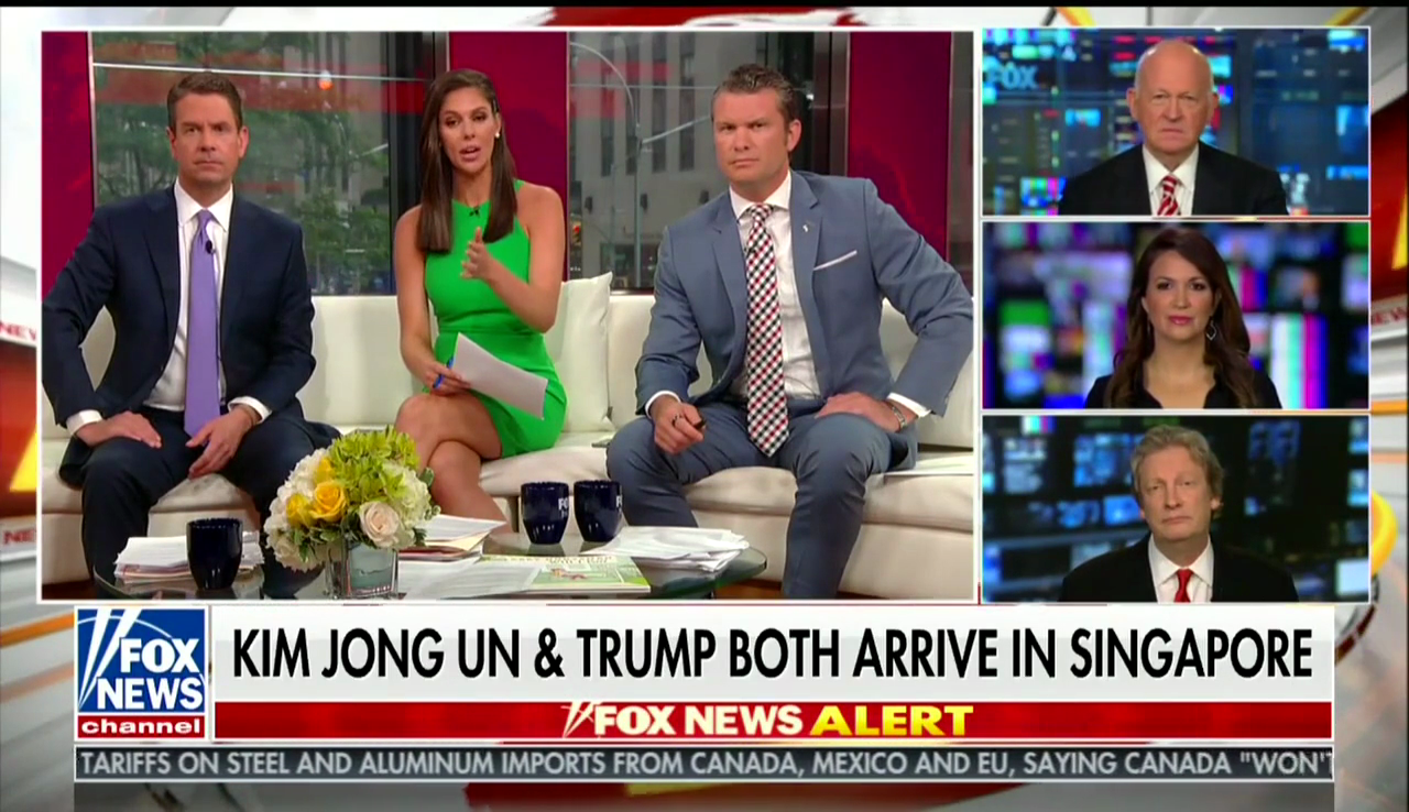Michael Pillsbury and Rebeccah Heinrichs on Fox News, June 10, 2018