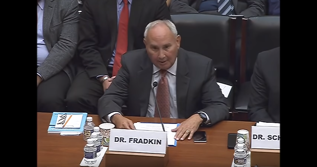 Hillel Fradkin Testifies before the U.S. House Committee on Oversight and Government Reform, July 11, 2018