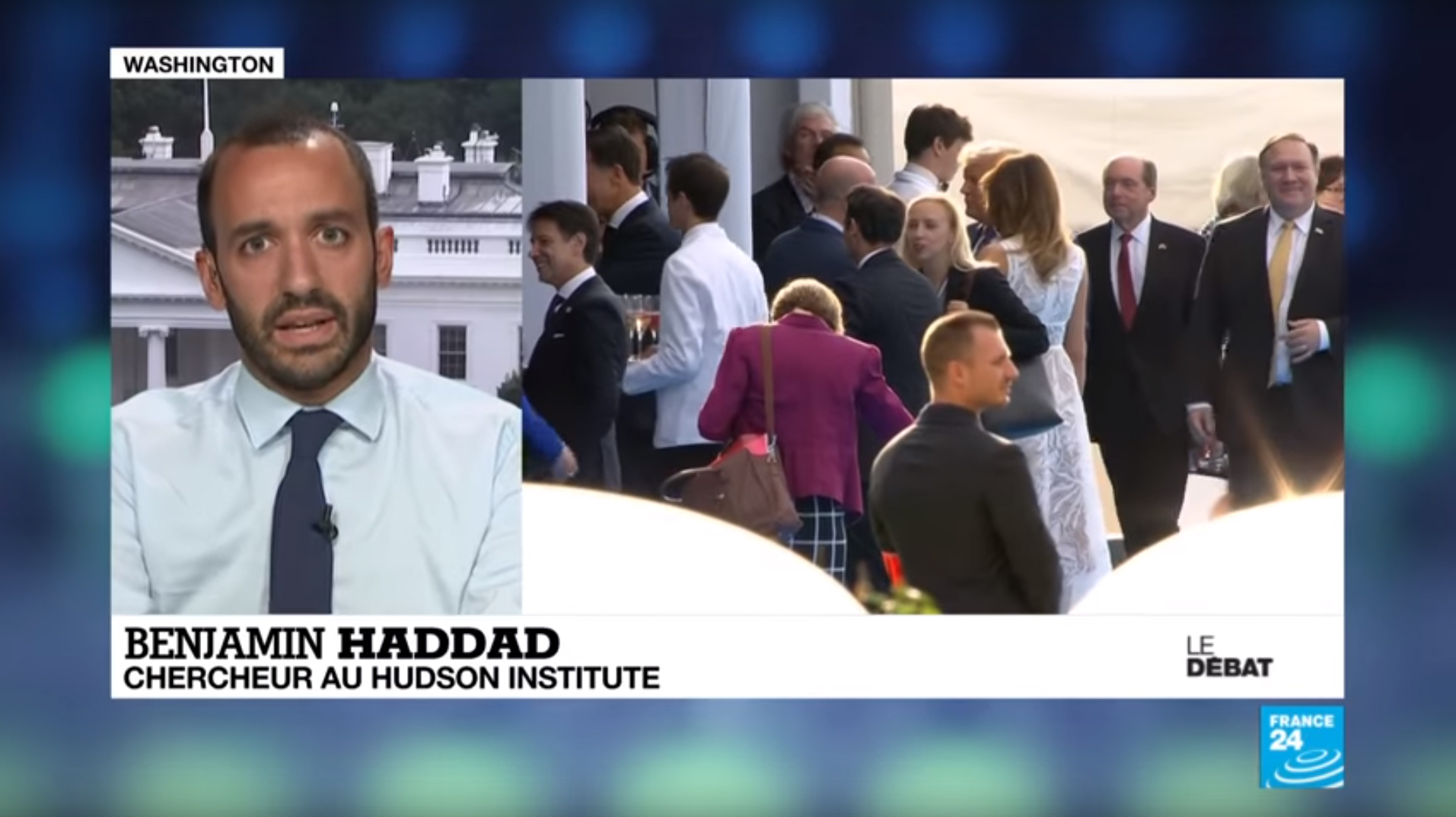 Benjamin Haddad on France 24, July 12, 2018